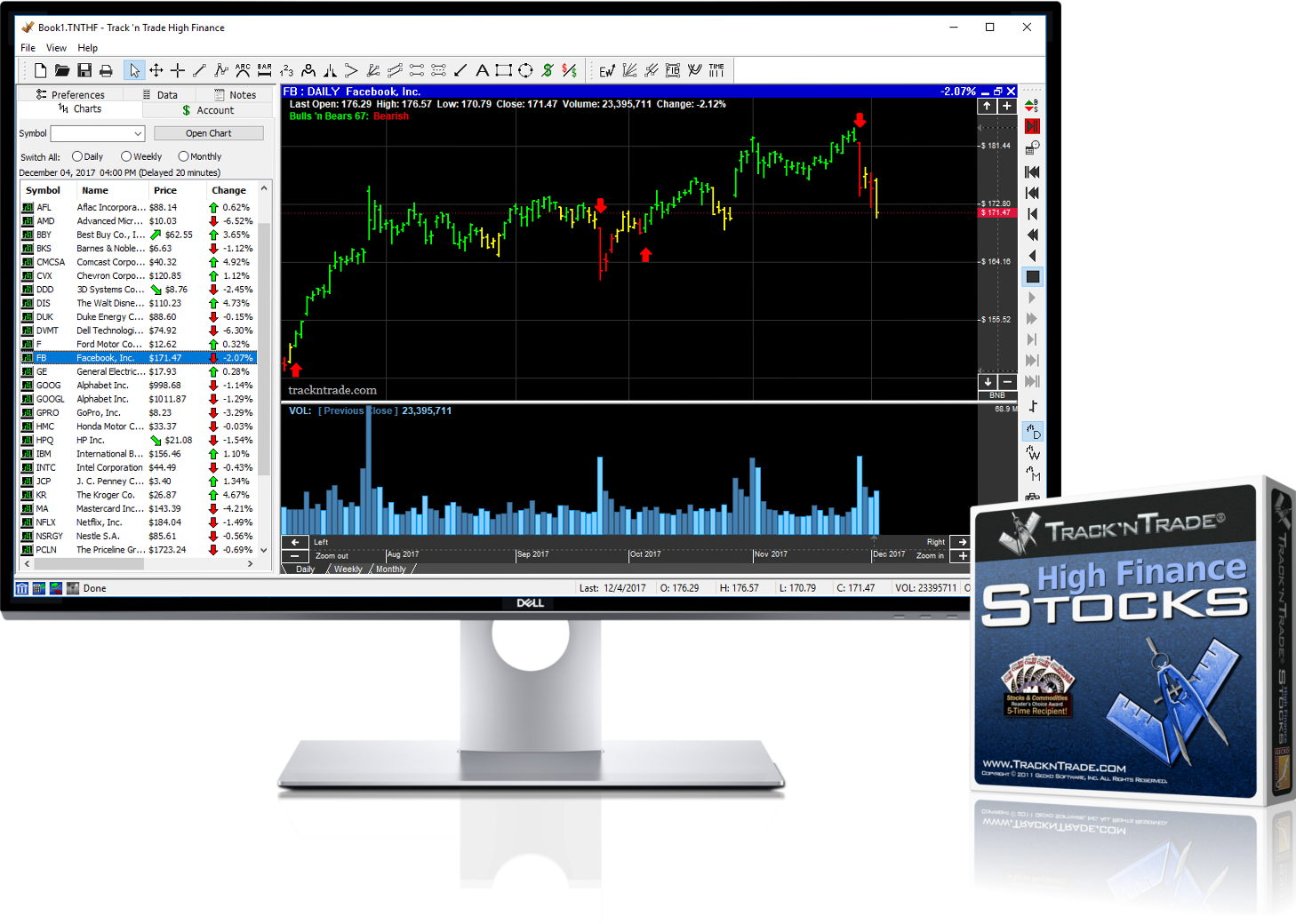 Stock charting software download free stock chart wizard stock.